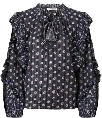 Ulla Johnson floral frill top