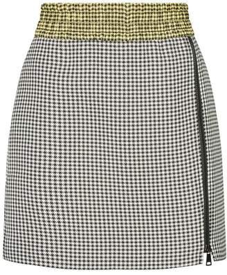 N°21 Houndstooth Mini Skirt