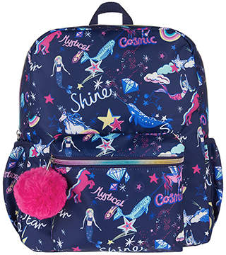 Monsoon Rainbow Unicorn Moon Beam Backpack