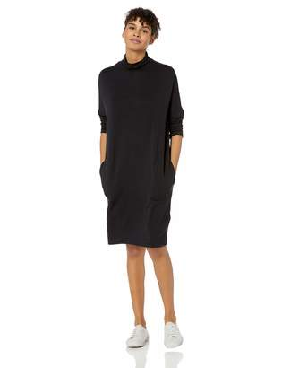 Skechers Women's Skechluxe Laid Back 3/4 Sleeve Turtleneck Dress, M
