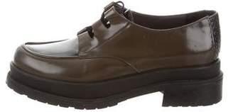 Stephane Kelian Platform Patent Leather Oxfords