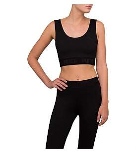 Puma Active Ess Banded Logo Crop Top