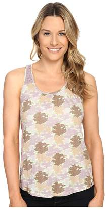 Woolrich Meadowlark Crochet Printed Tank Women's Sleeveless