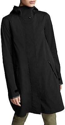 Canada Goose Women's Kitsilano Hooded Rain Jacket