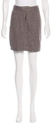 Gryphon Embellished A-Line Skirt