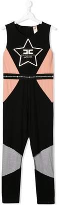 Elisabetta Franchi La Mia Bambina TEEN colour block jumpsuit