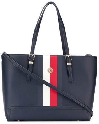 Tommy Hilfiger signature tape tote bag