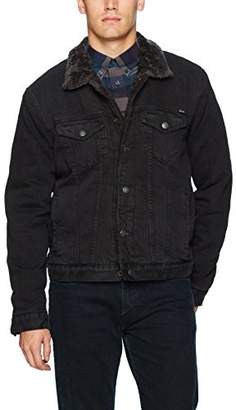 Lucky Brand Men's Lakewood Denim Sherpa Jacket
