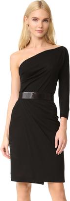 DSQUARED2 One Shoulder Dress $1,190 thestylecure.com