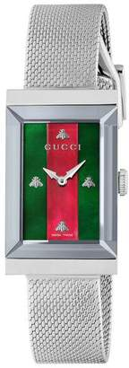 Gucci G-Frame watch 21x34mm