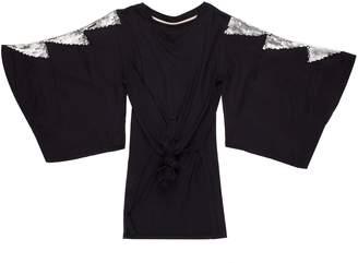 BOWIE X JAMES Glitter Kimono Sleeve Tee