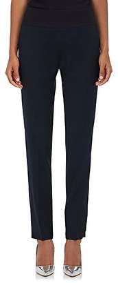 Pallas Women's Esope Satin-Trimmed Wool Pants