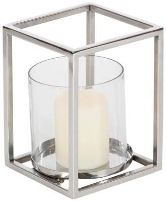 GwG Outlet Stainless Steel Glass Hurricane 6x8