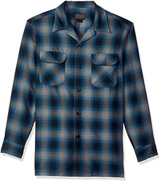 Pendleton Men's Long Sleeve Worsted Wool Board Shirt