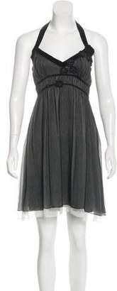 Max Studio Embellished Silk Dress w/ Tags