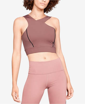 Under Armour Open-Back Cropped Top