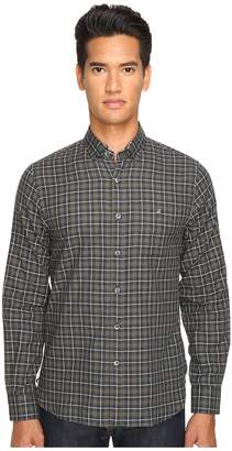 Todd Snyder Italian Heather Check Button-Up Men's Clothing