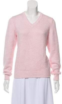 Loro Piana Medium-Weight V-Neck Sweater