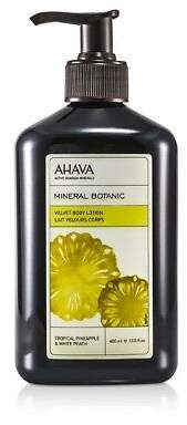 Ahava NEW Mineral Botanic Velvet Body Lotion - Tropical Pineapple & White 400ml