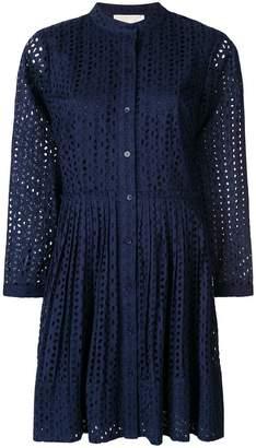 Michael Kors lace mandarin collar dress