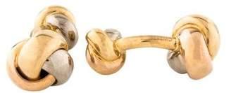 Cartier 18K Trinity Classic Cufflinks