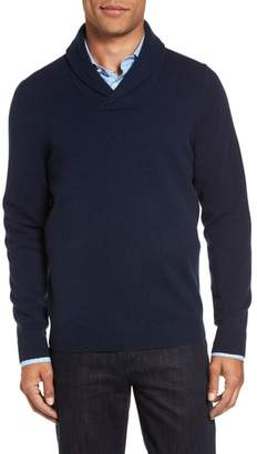 Nordstrom Shawl Collar Cashmere Pullover