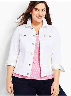 Talbots The Classic Jean Jacket-Colored