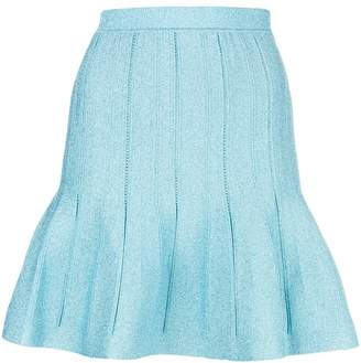 Alberta Ferretti fitted flared skirt
