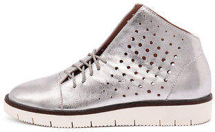 Gola New Silent D Silver Womens Shoes Casual Sneakers Casual