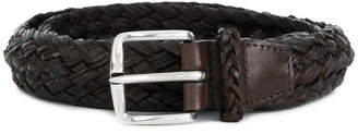 Orciani woven buckled belt