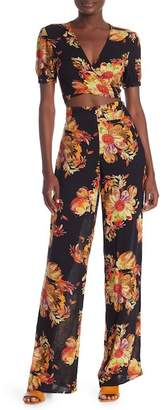 0d58e4f8c4394 ... Dance and Marvel Floral Crop Top   Pants Set