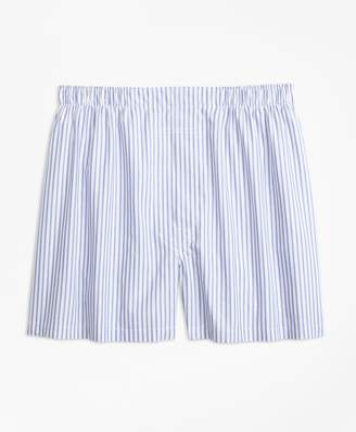 Brooks Brothers Traditional Fit Alternating Stripe Boxers