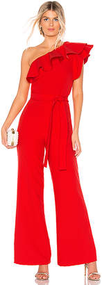 Karina Grimaldi Gia One Shoulder Jumpsuit