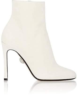 SAMUELE FAILLI Women's Linda Suede Ankle Boots - White
