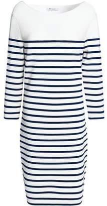 Alexander Wang Striped Stretch-Knit Mini Dress