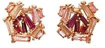 Nak Armstrong Women's Mixed-Gemstone Cluster Stud Earrings