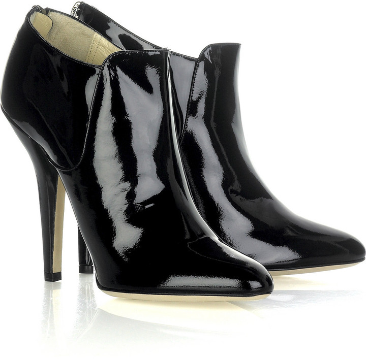 Jimmy Choo Reba leather ankle boots