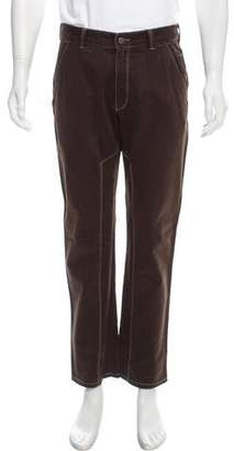 Burberry Flat Front Utility Pants