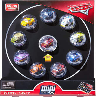 Mattel 10-Piece Disney Pixar Cars Mini Racers