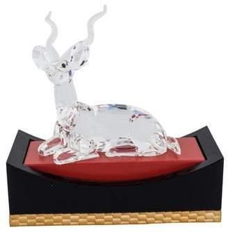 Swarovski Crystal Gazelle Figurine