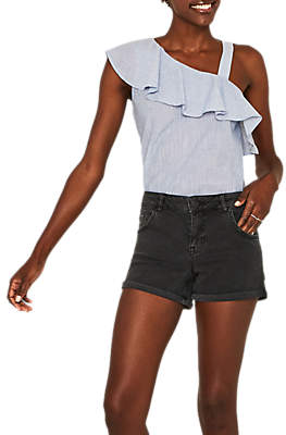 Oasis Denim Shorts, Black