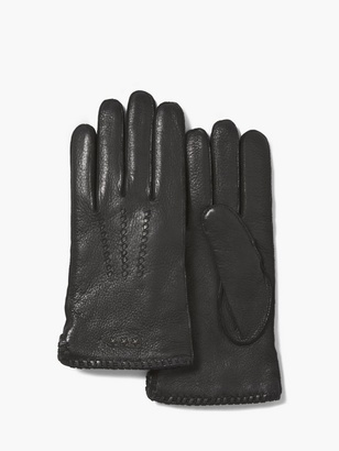 Deer Skin Leather Gloves $125 thestylecure.com
