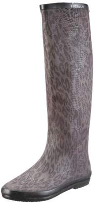 BeOnly Be Only Women's BOTTE REPTILIUM Boots Gray Size:
