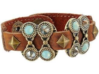 Leather Rock Daria Bracelet