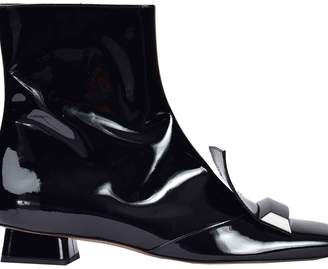 Rayne London Geometric Ankle Boots