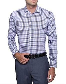 Calvin Klein Tattersal Check Slim Fit Shirt