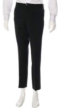 Dolce & Gabbana Virgin Wool Blend Dress Pants