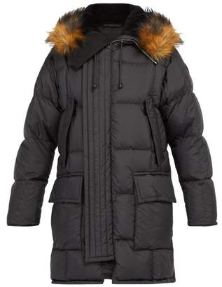 Burberry - Repton Quilted Parka - Mens - Black