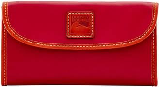 Dooney & Bourke Wexford Leather Continental Clutch