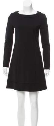 Patrizia Pepe Long Sleeve Mini Dress